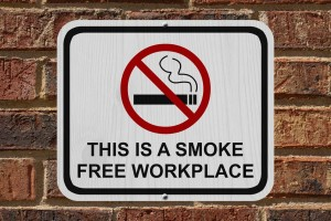 Smoking in the Workplace Not Allowed