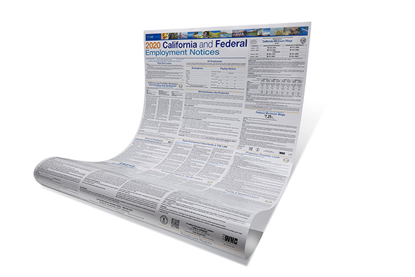 Save 50 percent on this all-in-one paper poster for your remote employees.