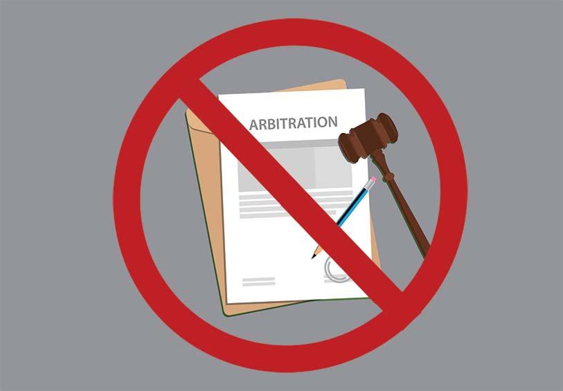 ban on mandatory arbitrations