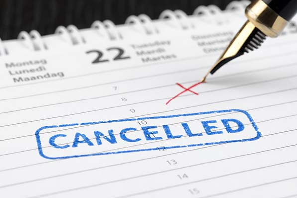 canceling a shift reporting time pay