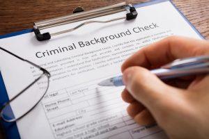 criminal history regulations rejection background