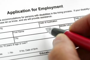 Employers should review job applications to make sure they do not ask anything prohibited by law.