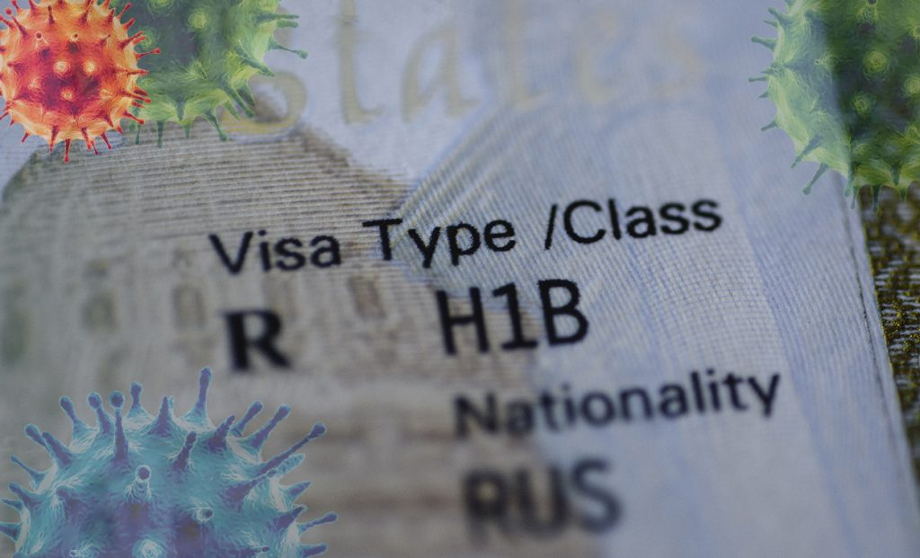 The COVID-19 national emergency declaration has affected the H-1B Visa process.