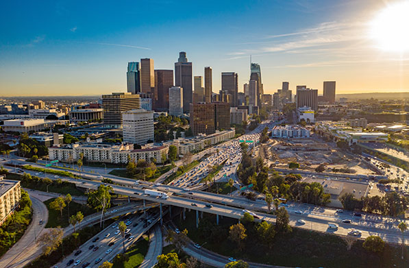 The city of Los Angeles' new ordinance would cover employers with 500 or more employees nationally.