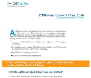 Download this free midyear employment law update white paper now.