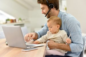 Fifty-four percent of working parents have taken advantage of flexible work arrangements.