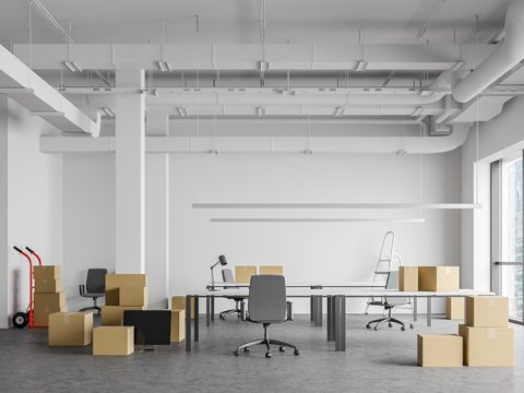 Closing office space