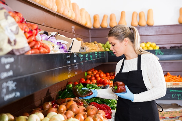 Grocery store workers are eligible to receive COVID-19 Supplemental Paid Sick Leave.