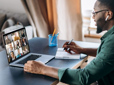 using technology to work remotely